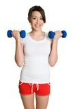 Healthy Workout Woman. Beautiful healthy fitness workout woman Stock Photography