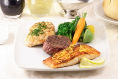 Healthy yes healthy and organic. Organic meats the only healthy way to eat meat Stock Photos