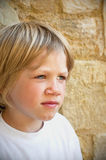 A healthy young boy Royalty Free Stock Images