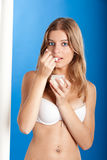 Healthy young woman Stock Image