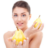 Healthy young woman Royalty Free Stock Photography