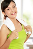 Healthy young woman Royalty Free Stock Images