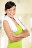 Healthy young woman Stock Photography