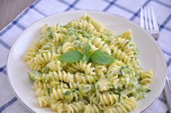 Healthy zucchini pasta Royalty Free Stock Photography