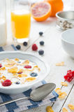 Healty breakfast Royalty Free Stock Photography
