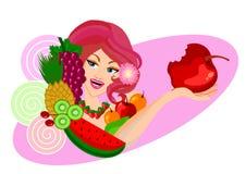 Diet concept Woman  Stock Photo