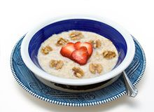 Healty Frühstück-Platte Stockbilder