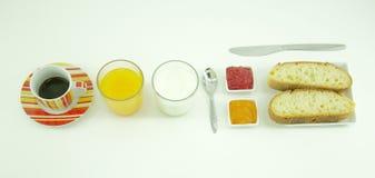 Healty-Frühstückszusammensetzung Lizenzfreie Stockbilder