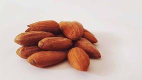Healty fresco natural nuts da amêndoa Imagens de Stock Royalty Free