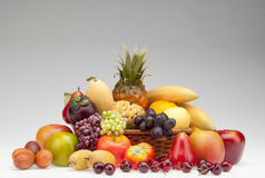 Healty fruits. Healthy fruits sat for present Stock Image