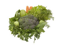 healty green vegetables Royalty Free Stock Photography