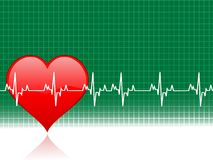 Healty heart royalty free stock photo