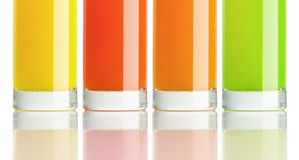 Healty Juice Isolated Royalty Free Stock Images