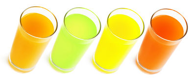 Healty Juice Isolated Royalty Free Stock Image