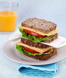 Healty Lunch Royalty Free Stock Image