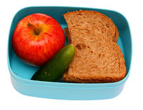 Healty school lunch Royalty Free Stock Image