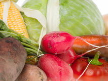 Healty vegetables background Royalty Free Stock Images