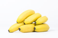 Healty verse bananen royalty-vrije stock foto