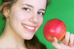 Healty woman Stock Images