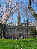 Healy Hall - Georgetown University Stock Images