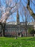 Healy Pasillo - universidad de Georgetown Imagenes de archivo