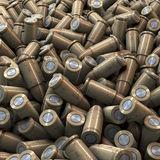 Heao of metal bullets Stock Photography