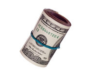 Heap of 100 dollars Stock Images