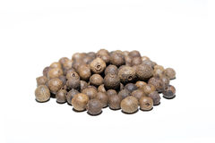 Heap of allspice corns Royalty Free Stock Photos