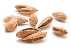 Heap almond Stock Photo