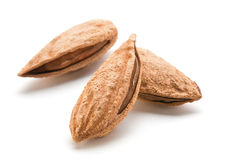 Heap almond Royalty Free Stock Images