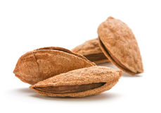 Heap almond Stock Image