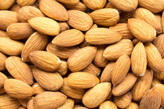 Heap of almond nuts Royalty Free Stock Photo