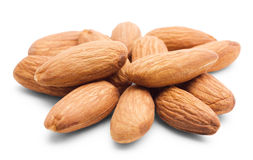 Heap of almonds Royalty Free Stock Photography