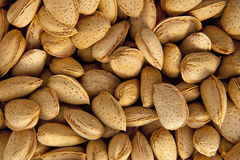 Heap of almonds Royalty Free Stock Image