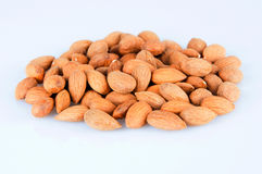 Heap of almonds Royalty Free Stock Photos
