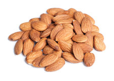 Heap of almonds Royalty Free Stock Images