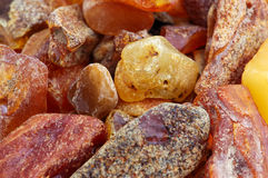 Heap of amber Royalty Free Stock Images