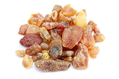 Heap of amber Stock Photo