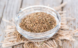 Heap of Anise Stock Photography