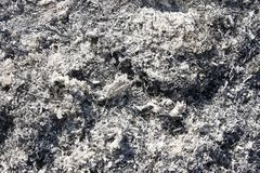 Heap of ashes Stock Images