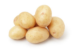 Heap of baby potatoes Royalty Free Stock Photos