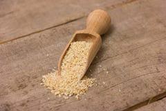 Heap of barley groats Stock Photography