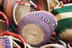 Heap of baskets Royalty Free Stock Photo