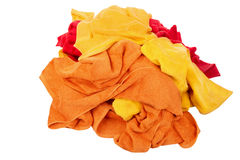 Heap of bath towels Royalty Free Stock Photos