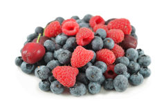 Heap of berries, isolated Royalty Free Stock Photo