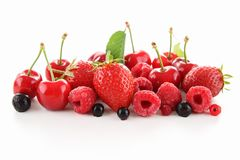 Heap of berry fruit Royalty Free Stock Images