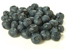 Heap of bilberries Stock Images