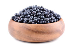 Heap of bilberries Royalty Free Stock Images