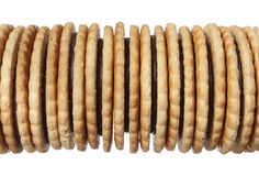 Heap of biscuit Stock Photo