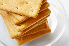 Heap of biscuits Royalty Free Stock Photos